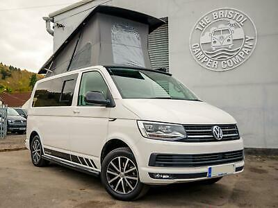 VW T6 Campervan *Just 11K Miles* High Spec SWB 150ps Tailgate White Edition