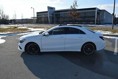 Mercedes-Benz: CLA-Class White Mercedes-Benz CLA250