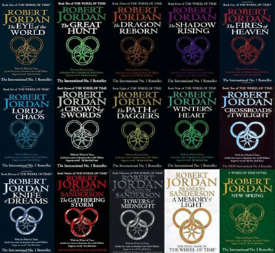 The Wheel of Time Collection - 15 AUDIOBOOK(MP3)