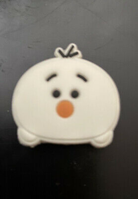 Crocs Jitbit Shoe Charm Decoration Olaf Frozen Diney White Snowman