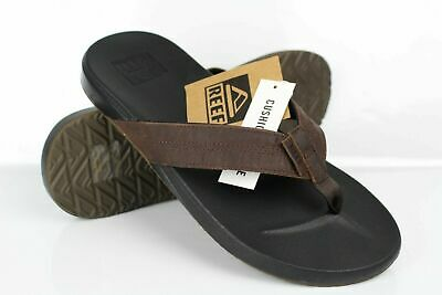 Reef Men's Cushion Bounce Phantom LE Flip Flop Sandals Black Brown