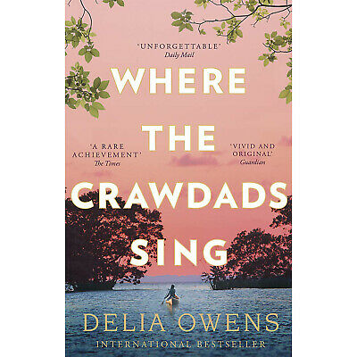 Where The Crawdads Sing by Delia Owens 2019 Paperback Brand New UK FAST Delivery