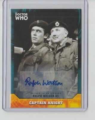 Doctor Who Signature Series Autograph Ralph Watson as Captain Knight #28