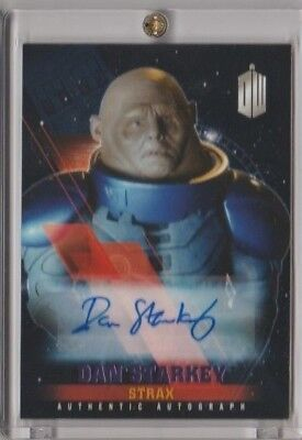 Doctor Who Timeless Parallel Autograph Card Dan Starkey as Strax 12/25