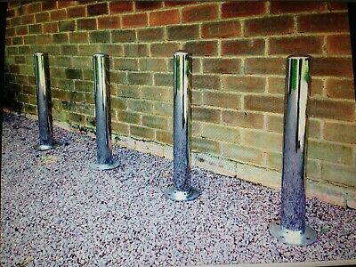 Car Park Bollard Garage Home Garden Gate Security Bolt Down Floor Drive Driveway