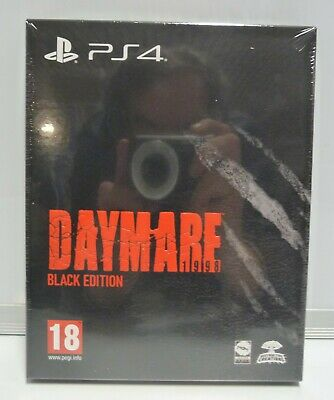 Daymare 1998 Black Edition - Sony Ps4 - Nuovo Sigillato Pal New Sealed