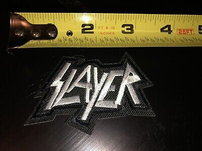 New Slayer Embroidered Iron-on / Sew-On Thrash Metal Band Patch