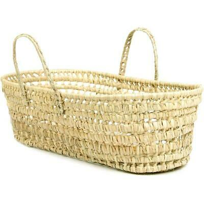 Baby Basket Organic Pure Moroccan Palm Natural Leaf Moses Carrying Newborn 15lbs