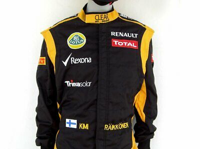 Kimi Raikkonen 2012 Replica Racing Suit karting suit embroidered