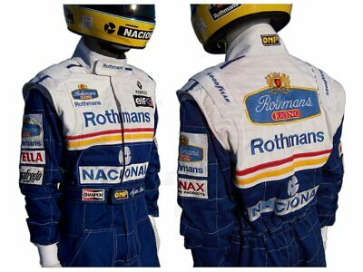 Ayrton Senna 1994 Replica racing suit rothman customize FIA Level 2 Suit