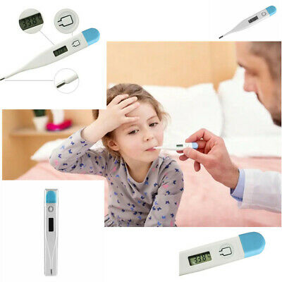 New Digital LCD Thermometer Baby Adult Kids Safe Body Ear Mouth Temperature
