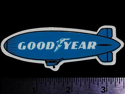 GOODYEAR Blimp - Original Vintage 1970's Racing Decal/Sticker