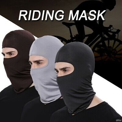 Motorcycle Face Shield Full Face Balaclava Cycling Bike Ski Outdoor Anti Dust