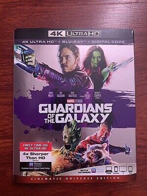 Guardians of the Galaxy (4K Slipcover Only)