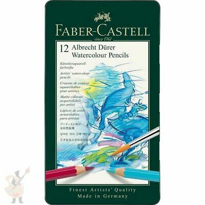 Faber-Castell Albrecht Durer Watercolour Pencils Sets Tin 12 24