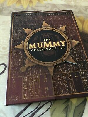 Lot The Mummy Collector's Set Mummy Mummy Returns Scorpion King on 3 DVDS