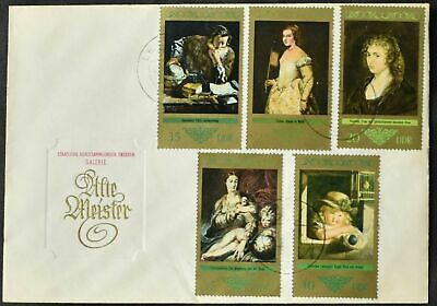 East Germany DDR 1973 Paintings By Old Masters Cover #C55605