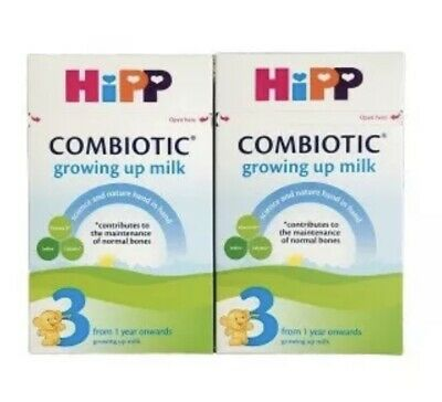 Hipp Combiotic Growing Up Milk 3 From 1 Year Onwards 2 x 600g Baby Formula