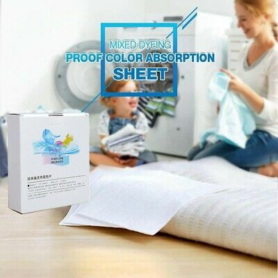 Washing Machine Use Mixed Dyeing Proof Color Absorption Sheet Laundry Papers AAA