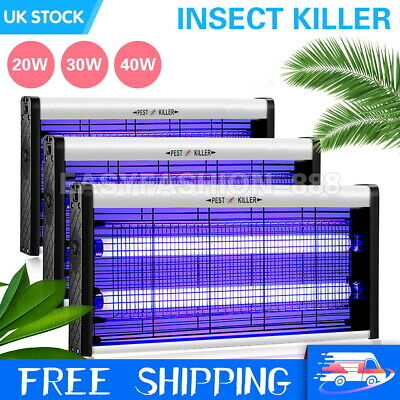 Pro Electric Mosquito Fly Killer Bug Insect Zapper UV Home Pest Catcher Trap UK