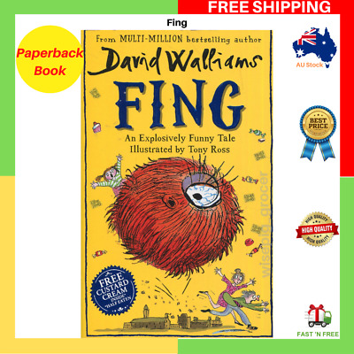 BRAND NEW Fing By David Walliams Paperback Book FAST FREE SHIPPING AU