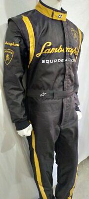 Go Kart Race Suit with free gloves lamborghini  made to measure