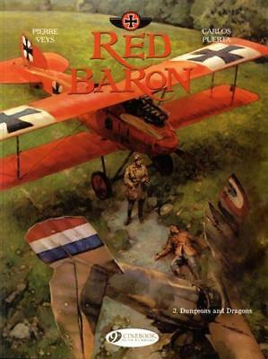Red Baron Vol. 3: Dungeons and Dragons by Carlos Puerta, Pierre Veys, NEW Book,
