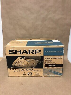 Sharp UX-355L Plain Paper Facsimile Fax Machine
