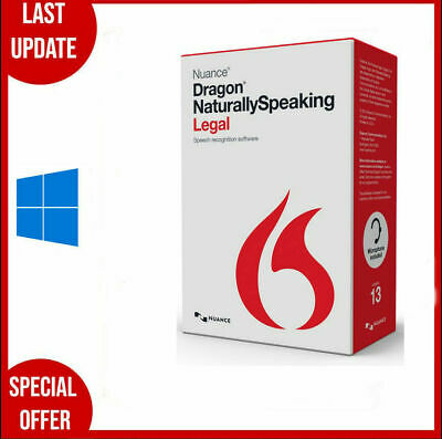 Nuance Dragon Naturally Speaking Premium 13 Full Version - licence key