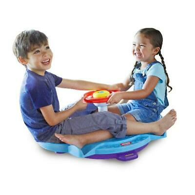 Dual Twister Fun Zone Little Tikes Indoor Outdoor  Toddlers Play 2 Spinner Seats