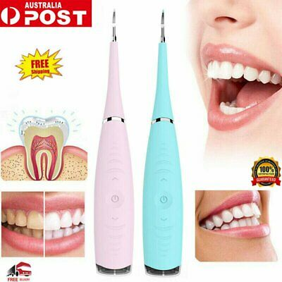 Electric Sonic Dental Scaler Tartar Calculus Plaque Remover Tooth Stains Tool WZ