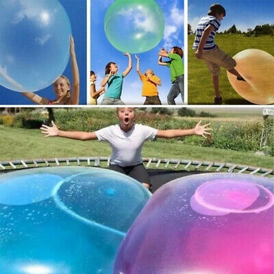 Bubble Ball Wubble Squishy Toy Firm Super Stretch Ball Transparent Bubble Soft