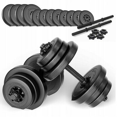 *SAPPHIRE XYLO-Line dumbbell set 2x10kg - adjustable 20kg. Condition is NeW*