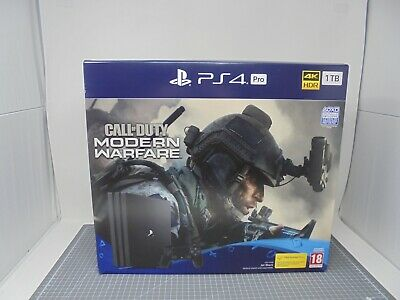 EMPTY BOX - Sony Playstation 4 Console - PS4 Pro Black - COD - Box Packaging