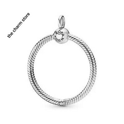 Pandora Moments Medium O Carrier Pendant S925 Ale