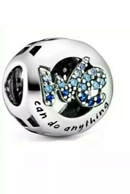 Pandora We Can Do Anything Charm S925 Ale