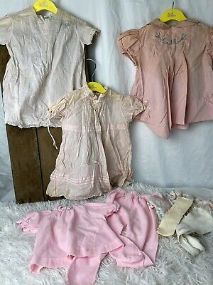 Vintage Baby Clothes Lot Of 12 From 1950s