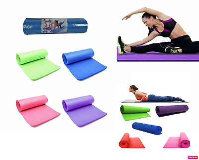 Tappetino yoga Palestra 180x60 tappeto fitness 6MM per palestra camping ballo