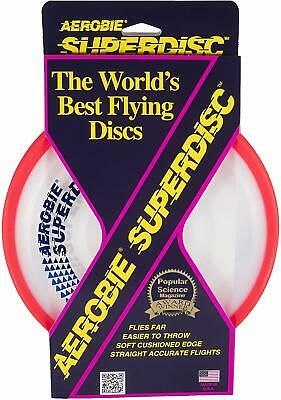 Aerobie Superdisc Frisbee Disc - Frisbee Dogs Golf Flying Toy Disc Game Soft 1