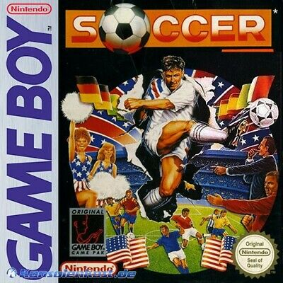 Nintendo GameBoy game - Soccer cartridge with manual