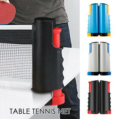 Portable Ping Pong Net Rack Retractable Table Tennis Net Rack Replacement Train
