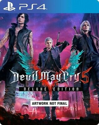 Devil May Cry 5 Deluxe Edition PS4 (Digitale)