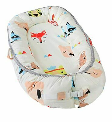 Newborn Baby Nest - Easy to Move, Ideal for Co-Sleeping, 100% Cotton