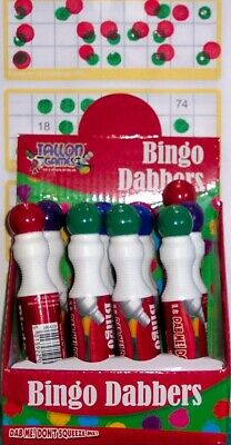 A bingo dabber ink marker pen for ticket games choose your lucky colour no drips
