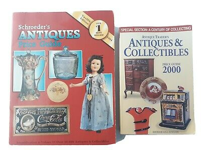 Schroeder's Antiques & Collectibles Price Guide Lot of 2 Reference Books
