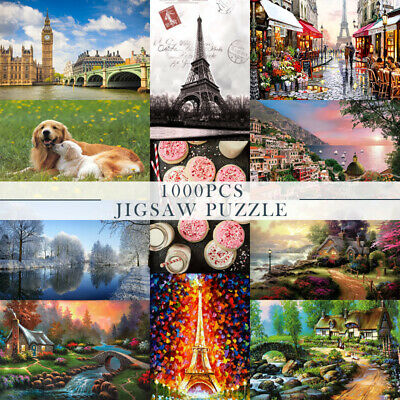 Kids Adult Puzzle 1000 Pieces Mini Jigsaw Decompression Game Toys Gifts  Home