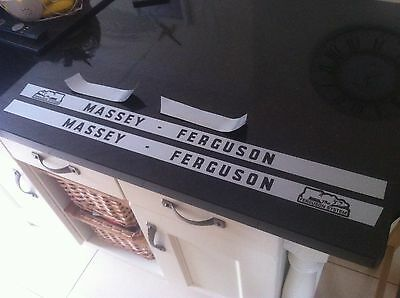 massey ferguson 135 bonnet stickers / decals Laminated and Weather-proof!