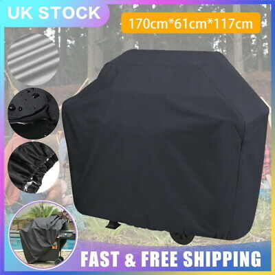 170cm XL BBQ Cover Heavy Duty Waterproof Barbecue Grill Protector Outdoor Garden