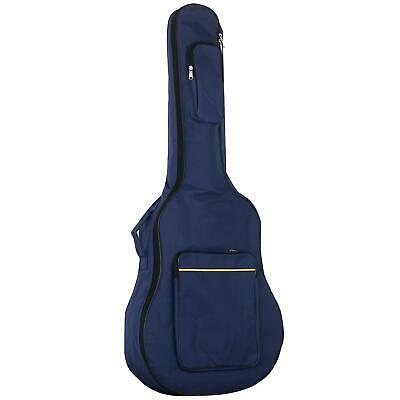 BNWT - Trixes Blue Protective Full Size Acoustic Guitar Padded Case - Waterproof