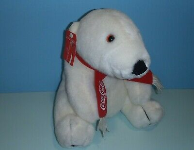 "11"" DAKIN COCA COLA COKE POLAR BEAR PLUSH With tag"